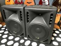 STAGG SMS10P Active PA Speaker Cabinets