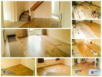 Solid Oak flooring to Laminate flooring, all fitted at an affordable Price.