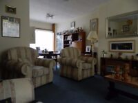 FREE 3 SEATER SOFA AND 2 ARMCHAIRS WITH LOOSE ARM COVERS HIGH QUALITY FIRE LABELS ATTACHED FREE