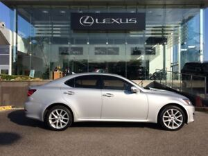 2012 Lexus IS 250 Leather and Moonroof Pkg Heated Seats