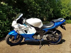 For sale is my Hyosung GT650R 2007 model.