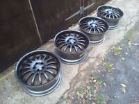 "18"" 5x100 Team dynamics alloy wheels Vw-Audi-Skoda-Seat-Toyota"