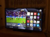 Jvc 40 inch 4K ultra hd smart led tv. Excellent condition. CAN DELIVER