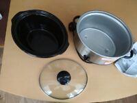 Crock-pot slow cooker 3l