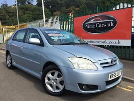 2006 56 Toyota Corolla 2.0 D-4D Colour Collection 5dr Turbo Diesel 5 Speed Manual