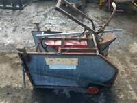 Sheep turnover crate farm livestock tractor