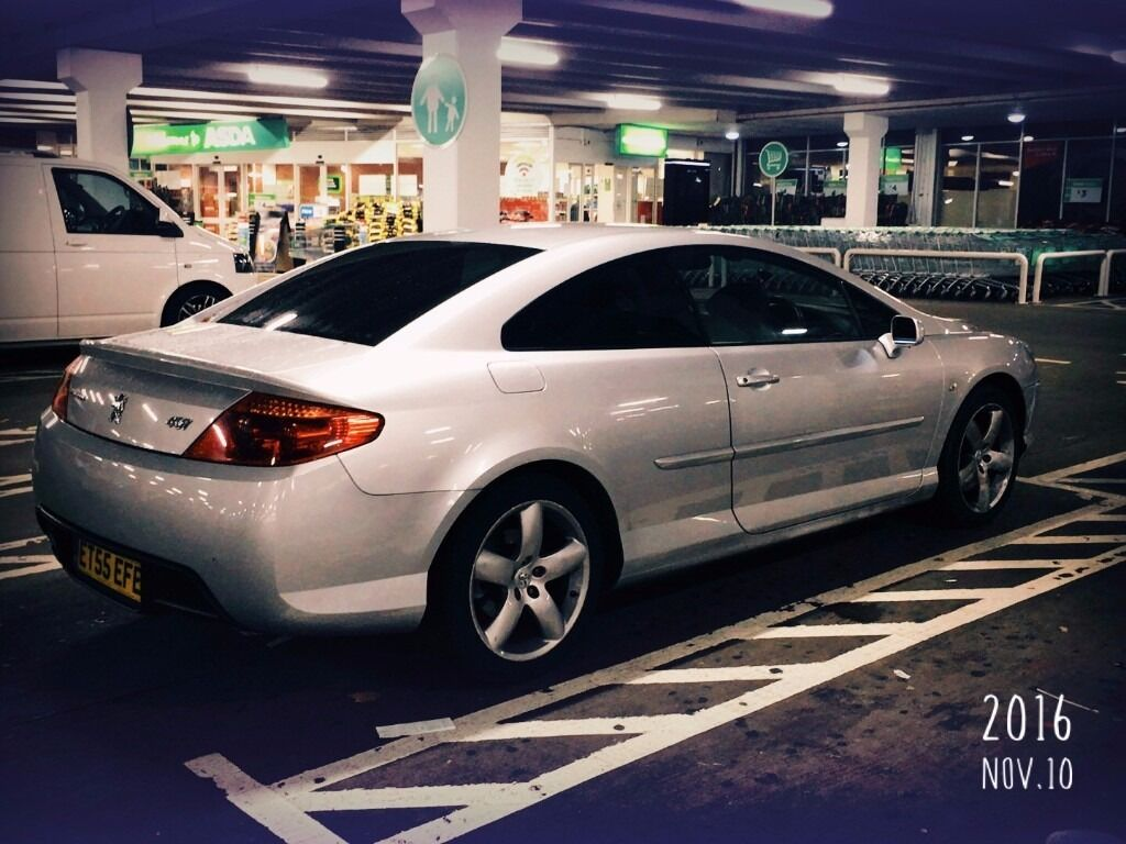 peugeot 407 coupe gt 2 7 diesel remap 245 hp in wimbledon london gumtree. Black Bedroom Furniture Sets. Home Design Ideas