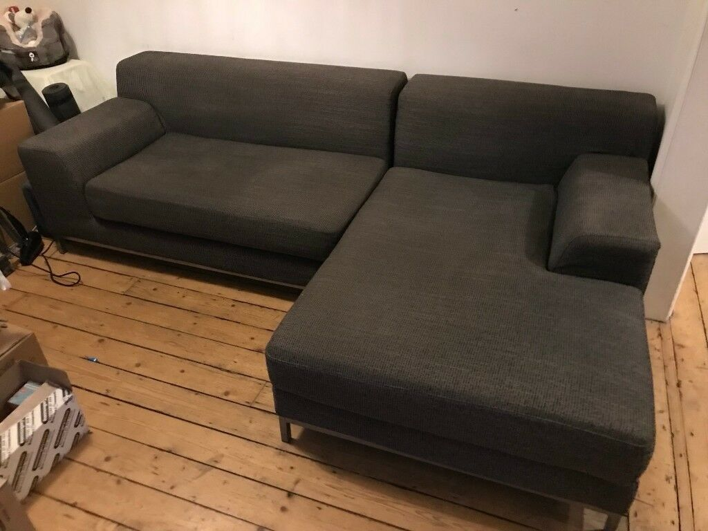 Terrific Large Ikea Kramfors Sofa Chaise Lounge Grey In Fallowfield Manchester Gumtree Download Free Architecture Designs Scobabritishbridgeorg