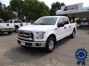 2015 Ford F-150 XLT Super Crew 4x4 - 37,433 KMs, Short Box Truck