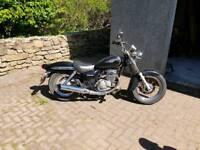 Suzuki marauder 125cc motorbike