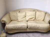 3 piece suite, sofa & 2 armchairs