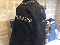 Alpinestars T-Xyon Monster WP Textile Jacket - Black / Green - Large CW 34 W trousers