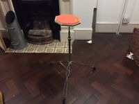 Practice pad attached to stand in mint condition
