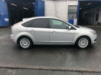 Ford focus 1.6 diesel MOT £30 road tax very good condition low mileage fully loaded