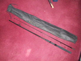 Shakespeare 2 Piece Spinning Rod in Bag