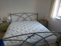 SUPER KING SIZE MATTRESS - used twice (AS NEW)