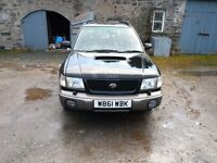 2000 SUBARU FORESTER 2.0 S TURBO - NO OFFERS AS I WONT REPLY TO THEM
