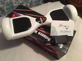 Brand new. Hoverboard Electric Scooter. Boxed. Pick up near Angel. Can deliver.