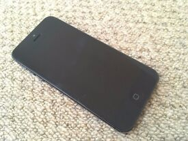 iPhone 5 32GB Unlocked and fully functional but could do with a new battery as it runs out fast