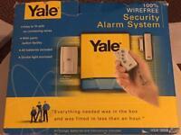 Yale wire free burglar alarm system