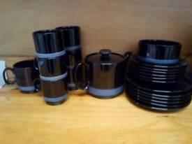 Retro/vintage tea set