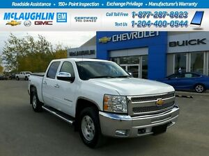 2012 Chevrolet Silverado 1500 4X4 Crew Cab LT *One owner local t