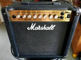 Marshall MG Series DFX Amp & Behringer Chromatic Tuning Pedal.
