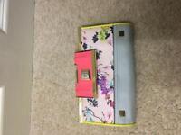 Flower pattern river island purse