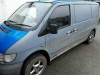 Vito 110cdi spares repair with MOT. Was running this morning!!