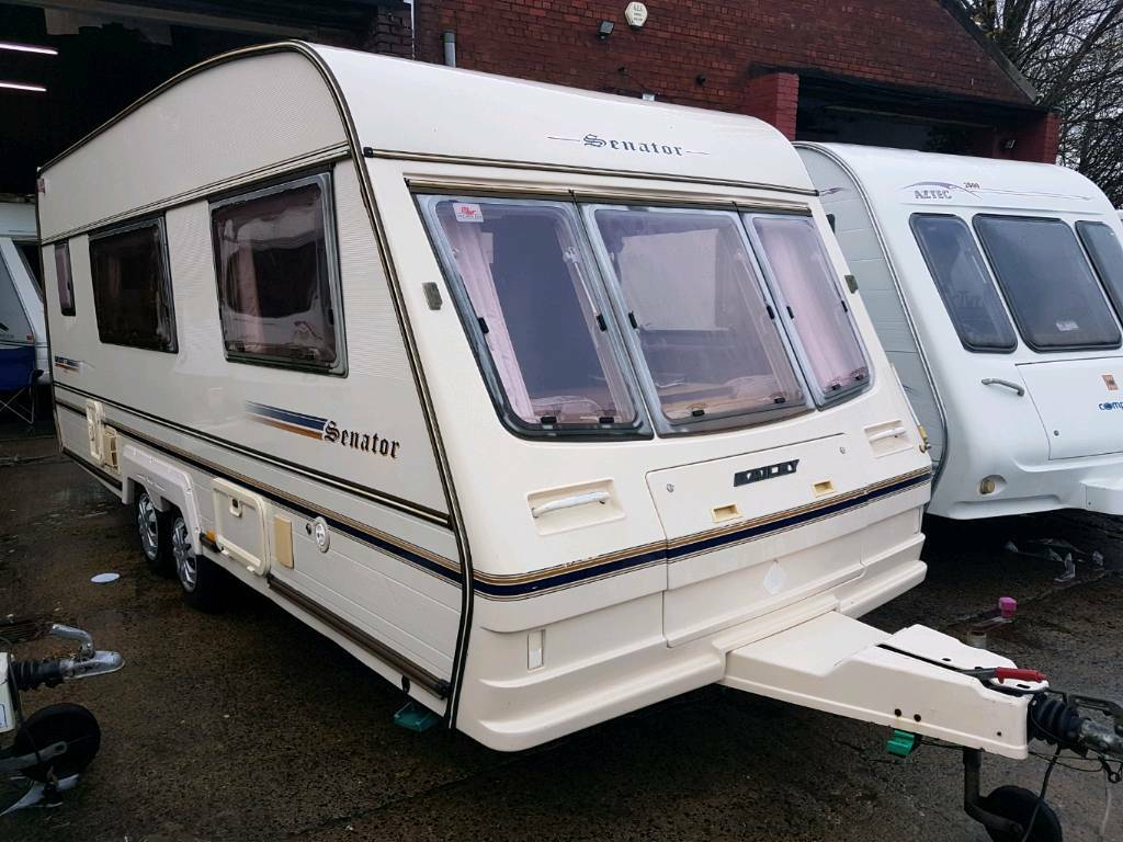 Bailey senator 4 berth twin axle