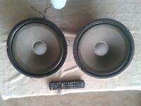 12 inch Fane 8 ohm speakers