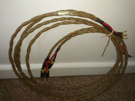 LEIDER PURE SILVER SPEAKER CABLES 2 X 2M PAIR