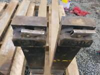 Set of pallet forks suit tractor telehandler forklift etc