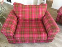 Next fabric snuggle chair