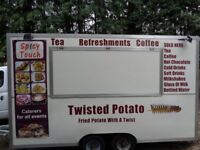 READY TO GO BURGER VAN CATERING TRAILER FULLY TESTED
