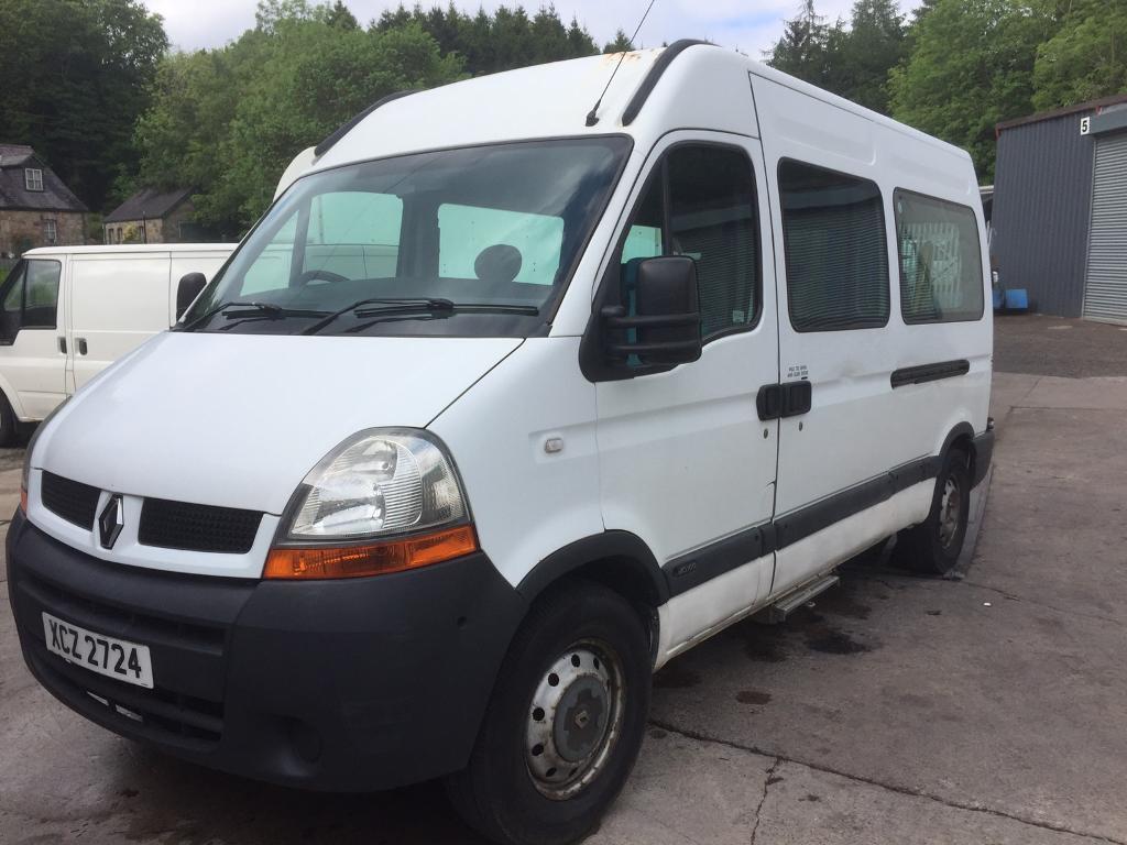 Renault Master Bus Camper Motor Home