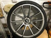 """Honda Nissan Mitsubishi 19"""" Alloys / Tyres"""