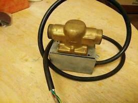 Honeywell motorised valve
