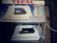 Tefal ultraglide steam iron. Vintage. Never used.