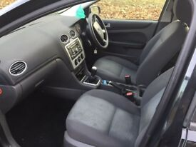 2007 Ford Focus 1.6 **Black** Long MOT** Superb Drive **HPI CLEAR** Recently Serviced