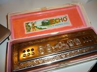 quality M H HOHNER double sided mouth organ,with original box,can play both sides,excellent cond...