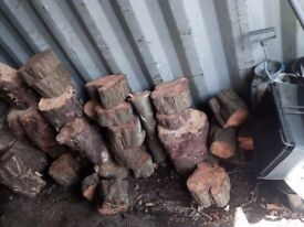Fire wood for sale -small-medium-large logs- HARD WOOD