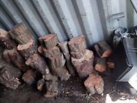 Fire wood for sale -small-medium-large logs- HARD WOOD