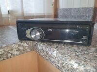 JVC CAR STEREO CD PLAYER WITH SURROUND