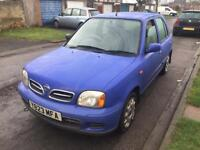 Nissan micra 2001 1.3 5dr Electric Steering/Windows/AC