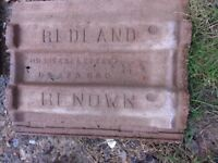 Reclaimed Redland Renown roof tiles 50p each approx. 40 available. Collection only.