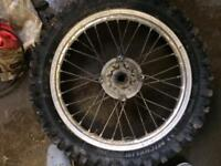 Cr125 wheels