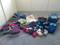Large bundle of age 12-18 mths boys clothing ( over 50 items).