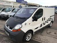 RENAULT TRAFIC DAY VAN/CAMPER LOVELY VAN NEEDS FINISHING WITH ROCK AND ROLL B...