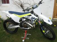 HUSQVARNA TC 250 2017 AS NEW CONDITION not ktm sx sxf xc fc tx 250 300 350 450